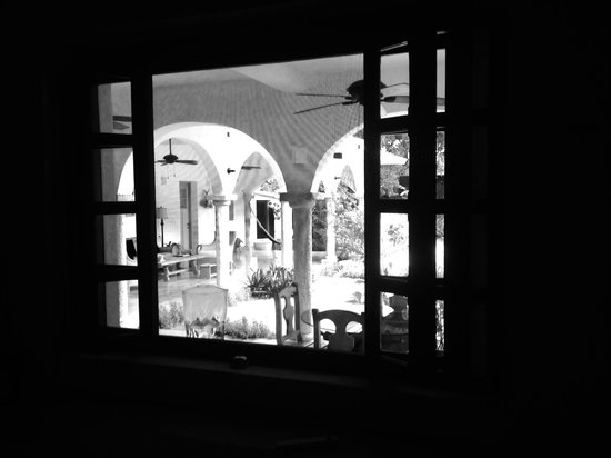 Hotel Posada San Juan: Dining room out to terrace