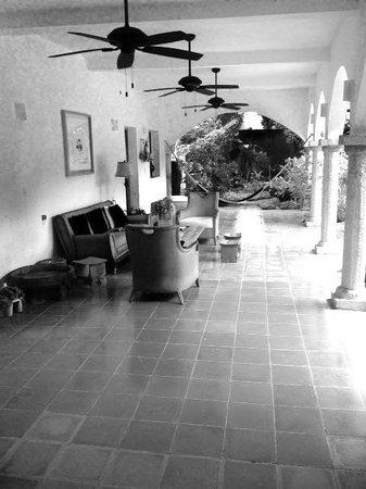 Hotel Posada San Juan: Terrace