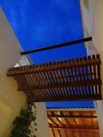 Villa Caracol: vista desde pasillo