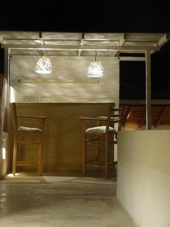 Villa Caracol: Barra en terraza