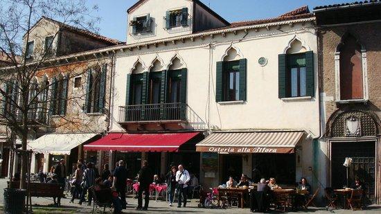 Osteria alla Bifora: vue du restaurant
