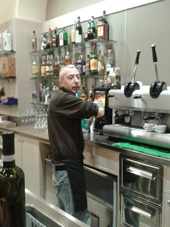 Dolce amaro caffe: The Best Barman Francesco