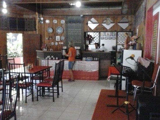 Hotel Indra Toraja: Frühstücksraum