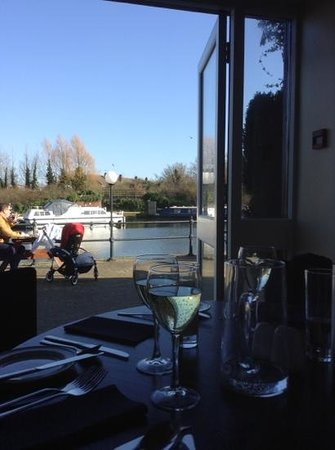 Lock & Quay Bar & Restaurant: Water view