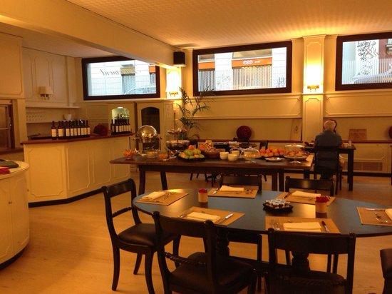 Camperio House Suites & Apartments: Ресторан