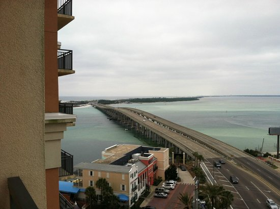 Emerald Grande at HarborWalk Village: Harbor View from 8th fllooor balcony