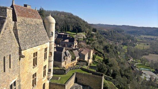 Château de Beynac : Beynac visto desde el castillo