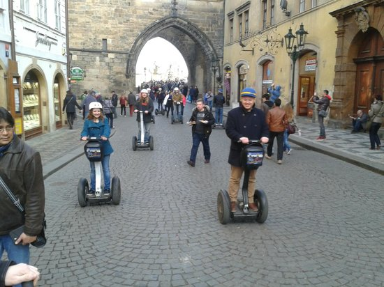 SEGWAY EXPERIENCE: Segway and E-Scooter Tours: Great Fun!