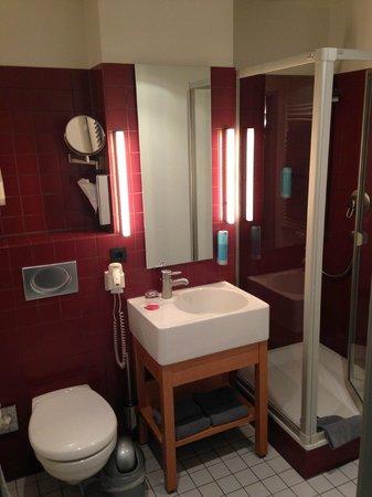 Auszeit Hotel Dusseldorf : Ванная
