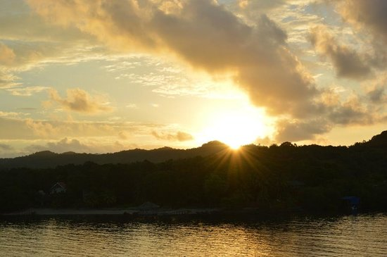 Posada Las Orquideas : Sunrise