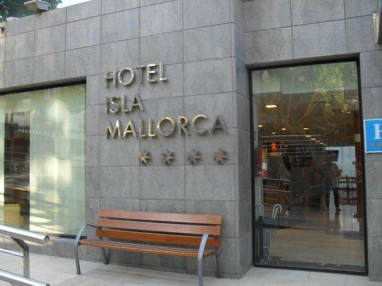 Hotel Isla Mallorca & Spa: Entrée de l'hotel