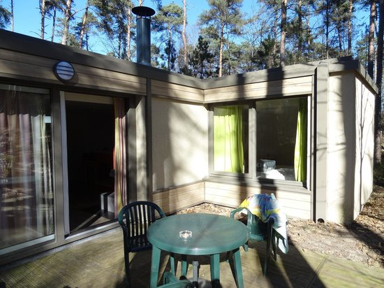 Center Parcs les Hauts de Bruyeres : terrasse