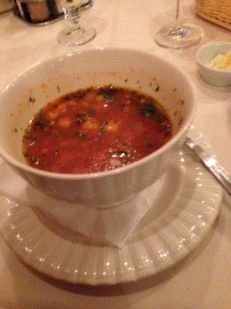 Mali Pariz: Minestrone soup.