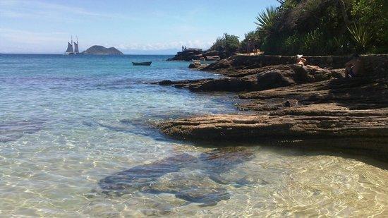 Auberge de la Langouste: Praia Azeda