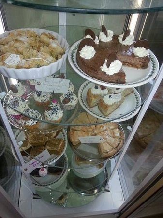 Park View Cafe: sweet trolly