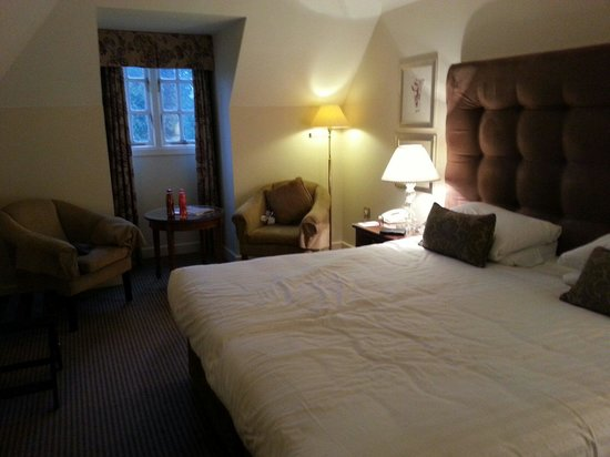 Mercure Shrewsbury Albrighton Hall Hotel and Spa: Room we stayed in