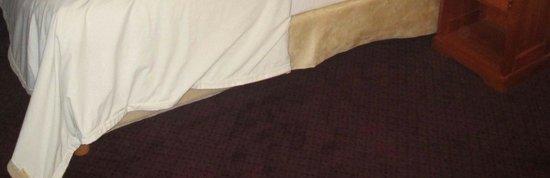 Hotel des Batignolles: Macchie sparse per la moquette