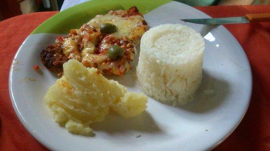 Papoula Culinaria Artesanal: Filé Parmegiana