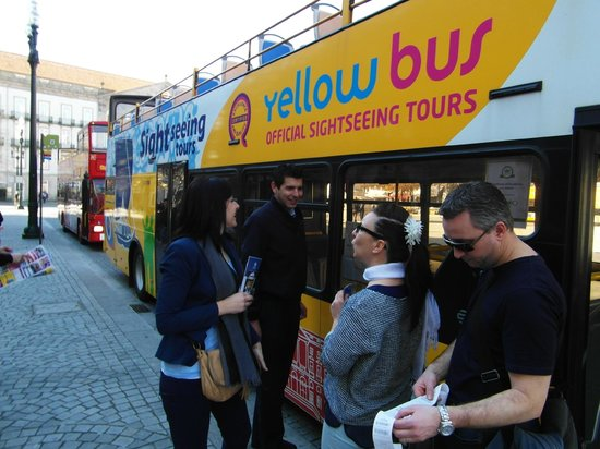 Yellow Bus Tours Oporto: De bus