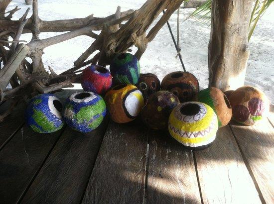Xamach Dos: Coconut bocce ball--fun!