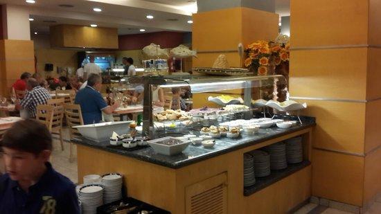 TRYP Port Cambrils : le buffet