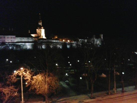 Go Hotel Shnelli: вид на вечерний город