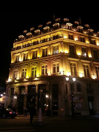 Hôtel du Louvre: Prospetto principale