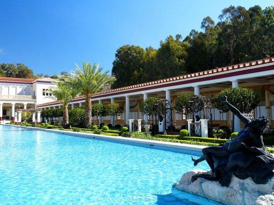 Garden And Pool Picture Of The Getty Villa Malibu