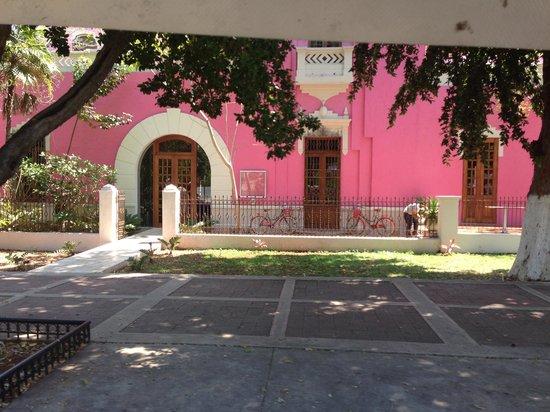 Rosas & Xocolate Boutique Hotel & Spa: Entrada del hotel