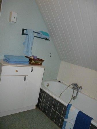Hotel T Kasteeltje: zelfs de handdoeken waren hard en blijkbaar al even niet gewassen, muffe geur