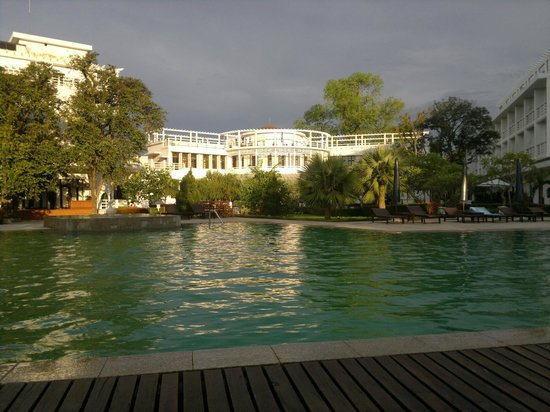 La Residence Hue Hotel & Spa : From the pool