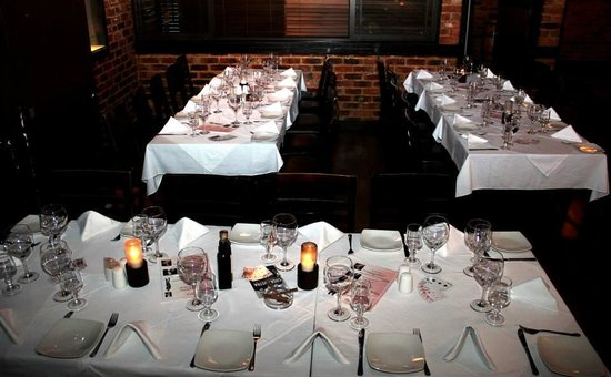The Grillhouse Rosebank: Table setting of function