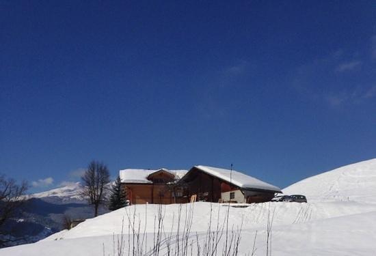 Hotel Gletschergarten: Aussicht von unserem Zimmer (11) erste Etage