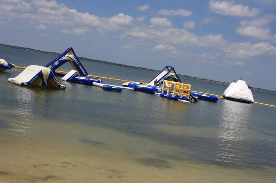 Portofino Island Resort Inflatable Water Park
