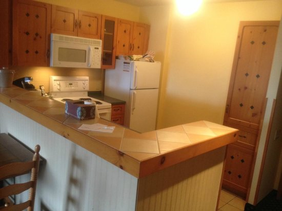 Lodge de la Montagne: Room 329 - Kitchenette - well equipped