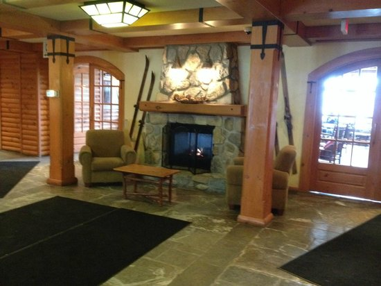 Lodge de la Montagne: Lobby / reception area