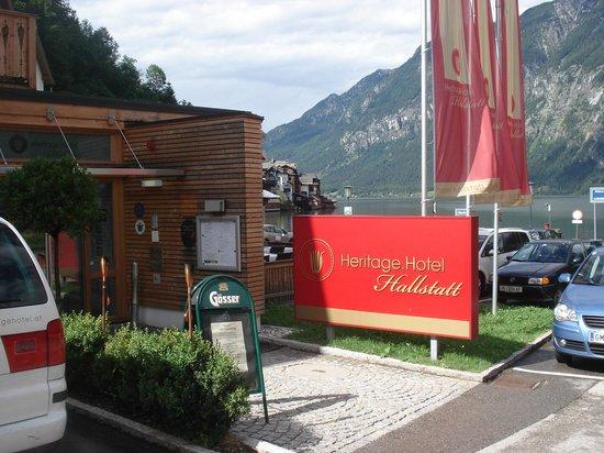 Heritage Hotel Hallstatt: Entrada do hotel