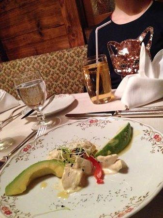 Hotel Gletschergarten: Vorspeise (sehr lecker)