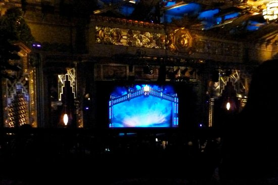 Pantages Theatre: stage