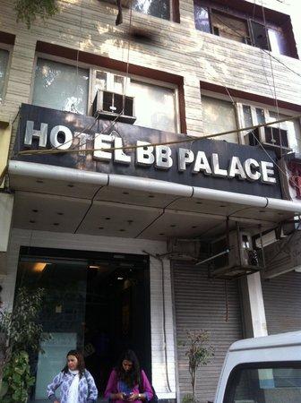 Hotel BB Palace: Fachada do hotel