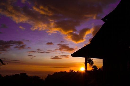 Restaurante Celajes at Hotel Belmar: Sunset at Celajes