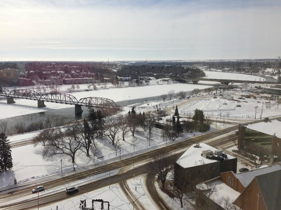 Radisson Hotel Saskatoon: View