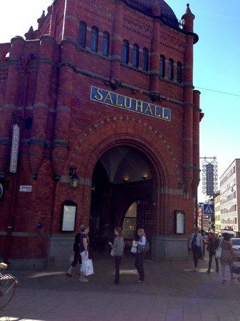 Ostermalms Saluhall : Saluhall Entrance