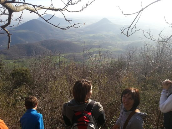 Galzignano Terme, İtalya: veduta da sopra il venda