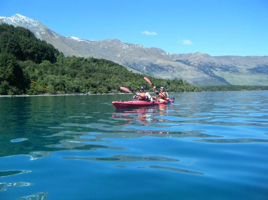 Time 2 Go!: Kayaking in Glenorchy