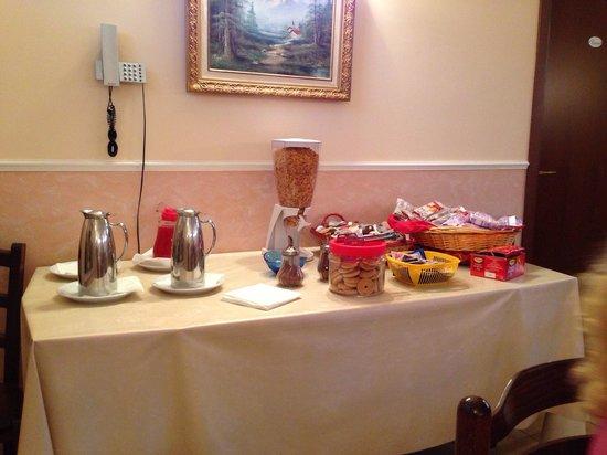Hotel Cenzo: La colazione