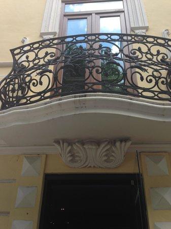 Hotel Mansion Merida on the Park : Entrada del restaurante