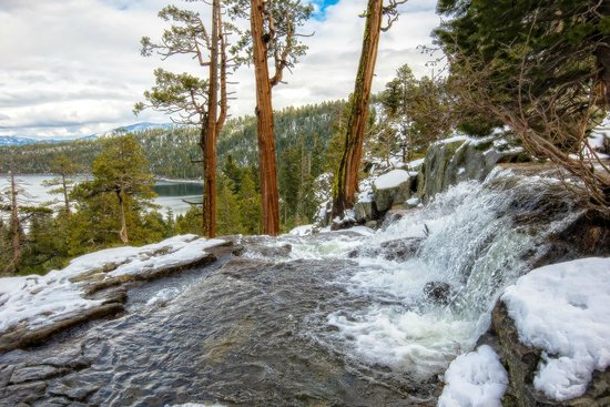 South Lake Tahoe, CA: Lower Eagle Falls