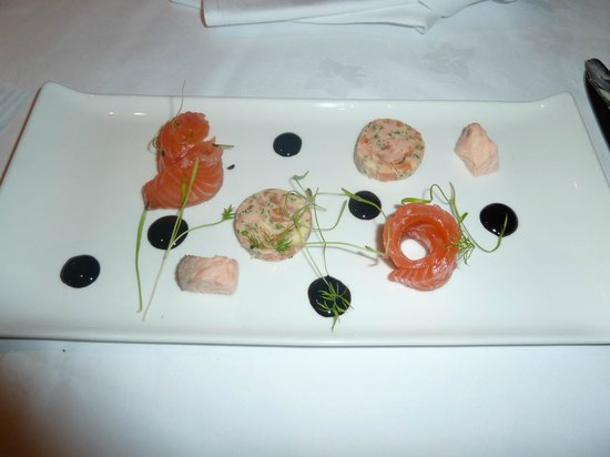 Stonefield Castle Hotel: Salmon fourways.