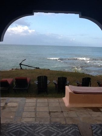 Jakes Hotel, Villas & Spa : our ocean view from sweet lip cottage